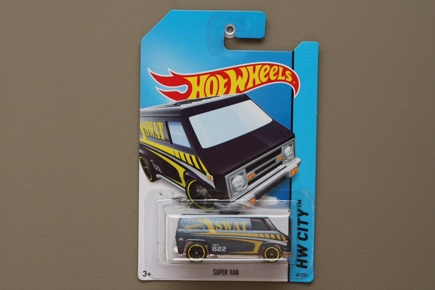 Hot Wheels 2014 HW City Super Van (navy blue)