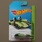 Hot Wheels 2014 HW Workshop Twin Mill (spectraflame green) (Super Treasure Hunt)