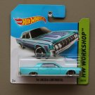 [TAMPO ERROR] Hot Wheels 2014 HW Workshop '64 Lincoln Continental (turquoise)