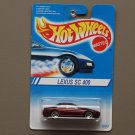 Hot Wheels 1994 Lexus SC 400 (burgundy) (#264)