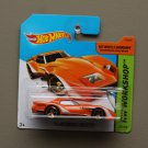 Hot Wheels 2014 HW Workshop '76 Greenwood Corvette (orange)