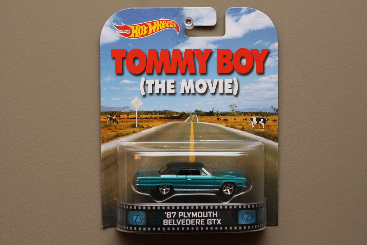 Hot Wheels 2014 Retro Entertainment '67 Plymouth Belvedere GTX (Tommy Boy)