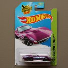 Hot Wheels 2014 HW Workshop '69 Corvette (magenta)