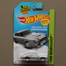 Hot Wheels 2014 HW Workshop Aston Martin 1963 DB5 (silver) (James Bond Goldfinger) (SEE CONDITION)