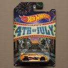 Hot Wheels 2014 4th Of July Nissan 350Z (yellow)