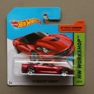 Hot Wheels 2014 HW Workshop '14 Corvette Stingray Convertible (red)
