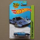Hot Wheels 2014 HW Workshop Pagani Huayra (blue)