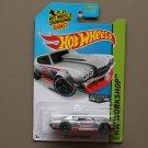 Hot Wheels 2014 HW Workshop '70 Chevy Chevelle (ZAMAC silver - Walmart Excl.)