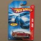 Hot Wheels 2007 Code Cars AMG Mercedes CLK DTM (burgundy)