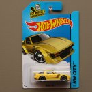 Hot Wheels 2014 HW City Mazda RX-7 (yellow)