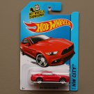 Hot Wheels 2014 HW City 2015 Ford Mustang GT (red)