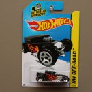 Hot Wheels 2014 HW Off-Road Bone Shaker (black)