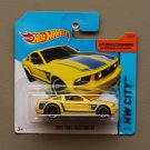 Hot Wheels 2014 HW City 2005 Ford Mustang GT (yellow)