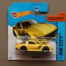 Hot Wheels 2014 HW City Mazda RX-7 (yellow)