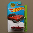 Hot Wheels 2015 HW Workshop Aston Martin 1963 DB5 (red)