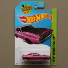 Hot Wheels 2014 HW Workshop '71 Dodge Challenger (pink - Kmart Excl.)