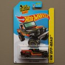 Hot Wheels 2014 HW Off-Road Jeep Scrambler (black)
