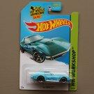 Hot Wheels 2014 HW Workshop '69 Corvette (turquoise - Kmart Excl.)