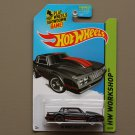 Hot Wheels 2015 HW Workshop '86 Monte Carlo SS (black)