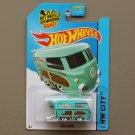 Hot Wheels 2015 HW City Volkswagen Kool Kombi (turquoise)