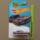 Hot Wheels 2015 HW Workshop '71 HEMI Cuda (blue)