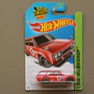 Hot Wheels 2014 HW Workshop '71 Datsun Bluebird 510 Wagon (red) (SEE CONDITION)