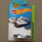 Hot Wheels 2014 HW Workshop Twin Mill III (ZAMAC silver - Walmart Excl.)