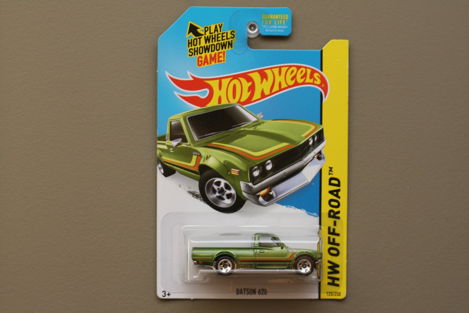Hot Wheels 2015 HW Off-Road Datsun 620 (green)