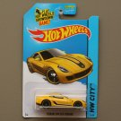 Hot Wheels 2015 HW City Ferrari 599 GTB Fiorano (yellow)