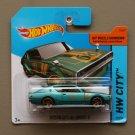 Hot Wheels 2014 HW City Nissan Skyline 2000GT-R (teal)