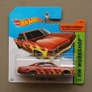 Hot Wheels 2014 HW Workshop '65 Chevy Impala (burgundy)