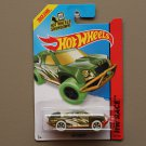 Hot Wheels 2014 HW Race Off Track (green) (Treasure Hunt) (SEE CONDITION)