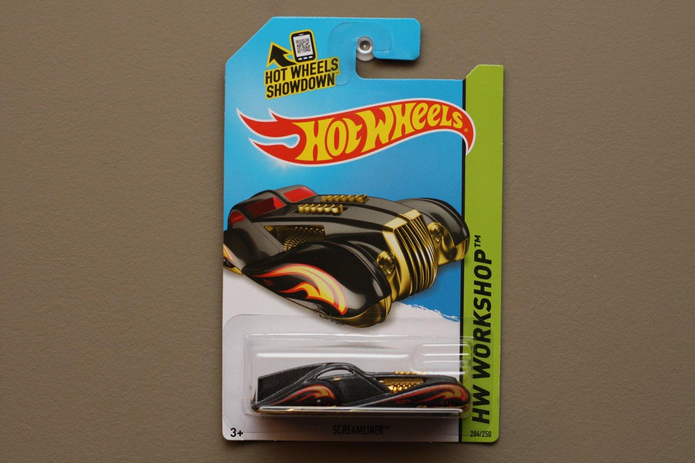 Hot wheels 2014 hw workshop screamliner black based off for 9 salon hot wheels mexico