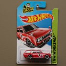 Hot Wheels 2014 HW Workshop '71 Datsun Bluebird 510 Wagon (red)
