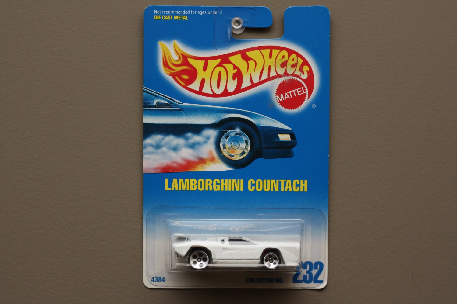 hot wheels 1991 collector series lamborghini countach. Black Bedroom Furniture Sets. Home Design Ideas