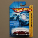 Hot Wheels 2007 First Editions Buick Grand National (burgundy) (SEE CONDITION)