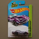 Hot Wheels 2014 HW Workshop '69 Corvette (spectraflame purple) (Super Treasure Hunt)