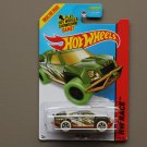 Hot Wheels 2014 HW Race Off Track (green) (Treasure Hunt)