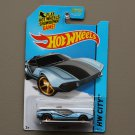Hot Wheels 2014 HW City La Fasta (blue) (Treasure Hunt) (SEE CONDITION)