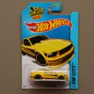 Hot Wheels 2014 HW City '07 Ford Mustang (yellow - Kmart Excl.)