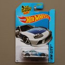 Hot Wheels 2014 HW City Toyota Supra (silver - Kmart Excl.)