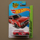 Hot Wheels 2014 HW Workshop '71 Datsun Bluebird 510 Wagon (red)