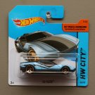 Hot Wheels 2014 HW City La Fasta (blue) (Treasure Hunt)