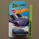 Hot Wheels 2014 HW Workshop HW Ford Transit Connect (blue)