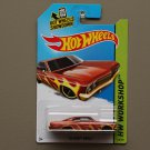 Hot Wheels 2014 HW Workshop '65 Chevy Impala (burgundy)