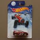Hot Wheels 2014 Christmas Holiday Honda Civic (burgundy)