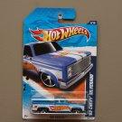 Hot Wheels 2011 HW Racing '83 Chevy Silverado (blue)