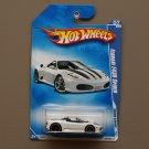 Hot Wheels 2009 Dream Garage Ferrari F430 Spider (white)