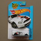 Hot Wheels 2015 HW City '10 Ford Shelby GT-500 (white)