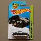 Hot Wheels 2015 HW Workshop Porsche 934 Turbo RSR (black) (SEE CONDITION)